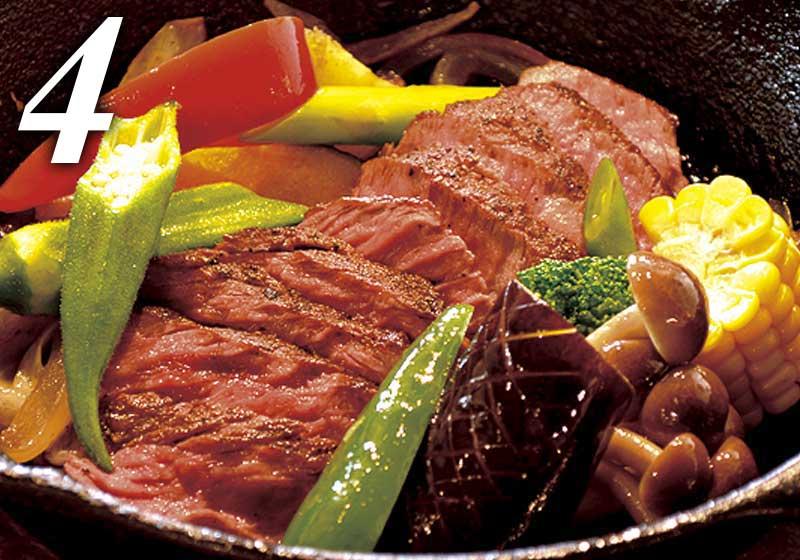 選べるメイン料理|ステーキ