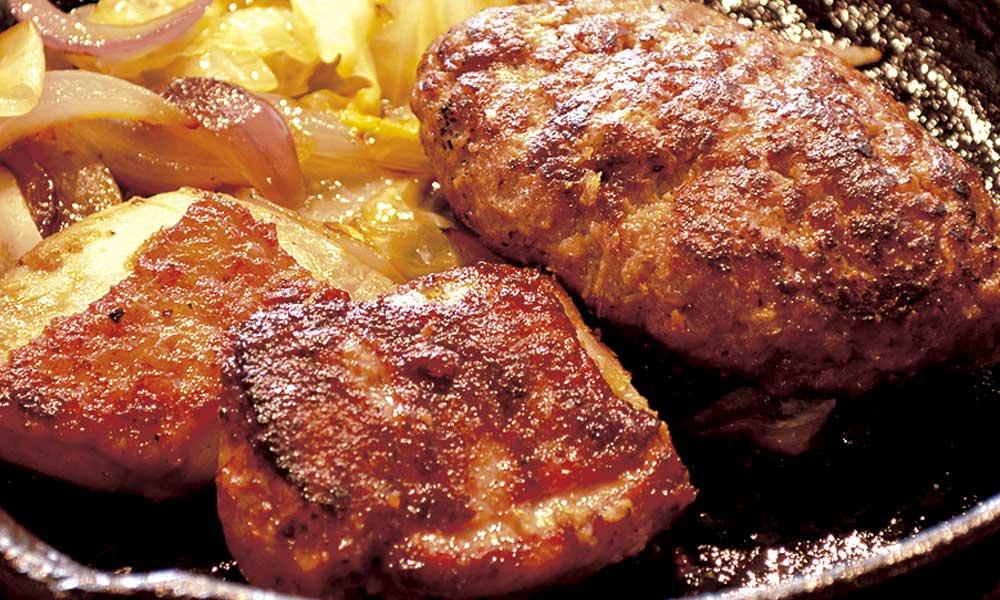 テイクアウト ハンバーグ&チキン